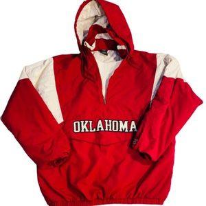 Vintage starter Oklahoma Sooners parka sz medium